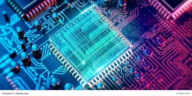 CPU Prozessor microchip